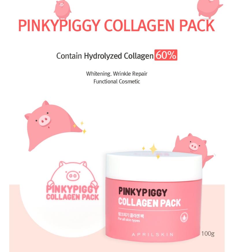 [AprilSkin] Pinky Piggy Collagen Pack