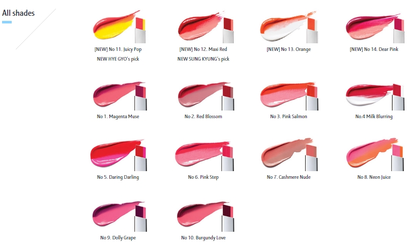 [Laneige] Two tone lip bar No.06 Pink Step 2g
